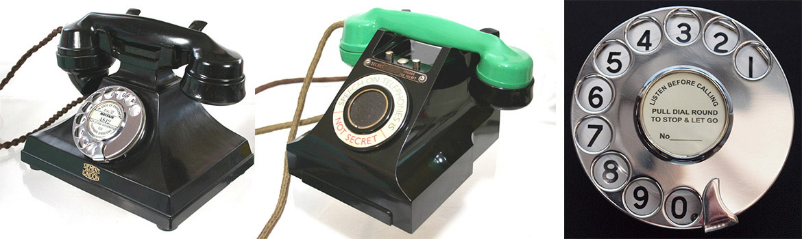 Collectors telephones