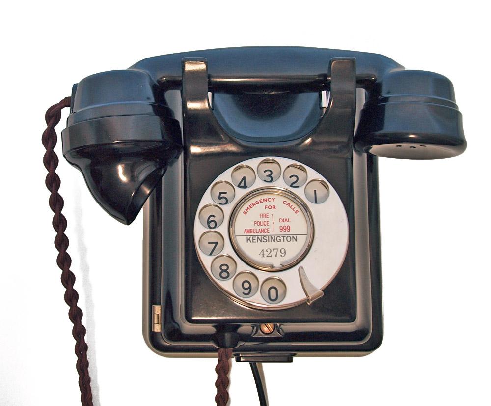 contents en uk p ATE Bakelite wall telephone  s