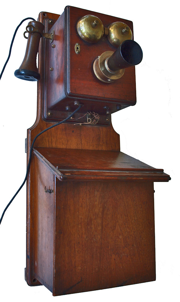 Early Wall Mounted Telephone